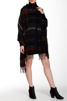 David & Young Plaid Hooded Cape