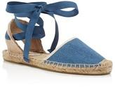 Soludos Classic Ankle Tie Espadrille Sandals