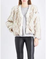 Claudie Pierlot Fauve faux-fur jacket