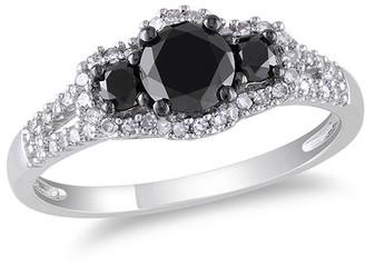 Rina Limor Fine Jewelry 14K 0.98 Ct. Tw. Diamond Halo Engagement Ring