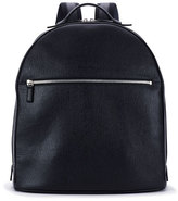 Salvatore Ferragamo Revival Men's Leather Backpack, Blue