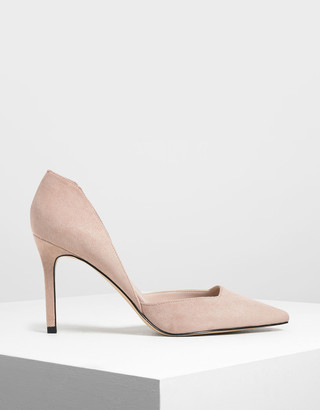Charles & Keith Classic D'Orsay Stiletto Pumps