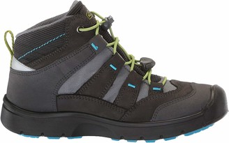 Keen Unisex-Adult HIKEPORT MID WP Hiking Boot Magnet/Greenery 1 M US