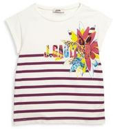 Junior Gaultier Toddler's, Little Girl's & Girl's Gipsy 3D Striped Tee