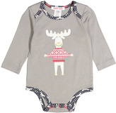 Baby Nay Gray Moose Friends Bodysuit - Infant