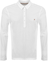 Farah Vintage Merriweather Polo T Shirt White
