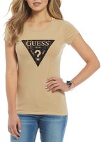 GUESS Triangle Logo Graphic Short-Sleeve Tee