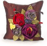 Mackenzie Childs MacKenzie-Childs Botanica Small Square Pillow
