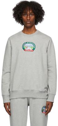 Casablanca Grey Voyage En Montagne Sweatshirt
