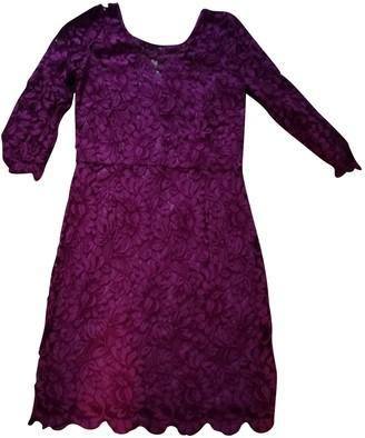 SET Burgundy Dress for Women