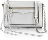 Rebecca Minkoff Avery Crossbody Bag Silver