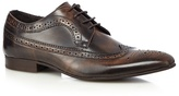 Jeff Banks Brown Lace Up Brogues