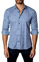 Jared Lang Cotton Printed Sportshirt