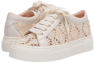 AGL Lace Sneaker (Off White) Women's Shoes