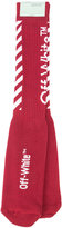 Off-White ribbed socks - men - Cotton/Polyamide/Spandex/Elastane - One Size