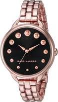 Marc Jacobs Women's Betty Rose Gold-Tone Watch - MJ3495