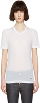 DSQUARED2 White Renny Fit T-Shirt
