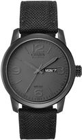 Citizen Eco-Drive Mens Canvas Watch BM8475-00F