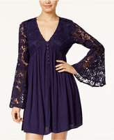 American Rag Bell-Sleeve Babydoll Dress, Only at Macy's