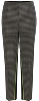 Prada Plaid wool trousers