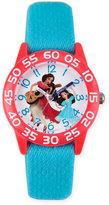 Disney Elena of Avalor Children's 32mm Time Teacher Watch in Red Plastic w/Nylon Strap
