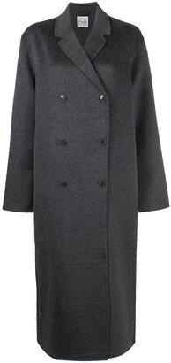Totême Oversized Double-Breasted Wool Coat