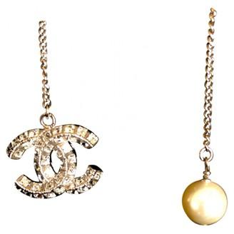 Chanel CC Silver Silver Necklaces