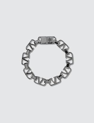 Valentino V Logo Bracelet