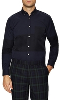 Timo Weiland Marco Colorblock Button-Down Sportshirt