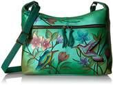 Anuschka Anna Handpainted Leather Women's Shoulder Bag