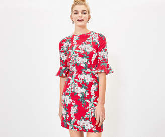 Oasis Floral Shift Dress