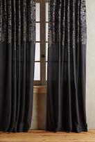 Anthropologie Vining Velvet Curtain