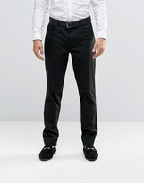 Asos Skinny Smart Pants With 5 Pockets In Black