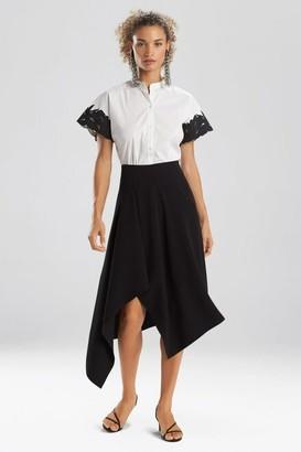 Natori Solid Crepe Skirt