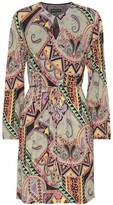Etro Paisley-printed jersey dress