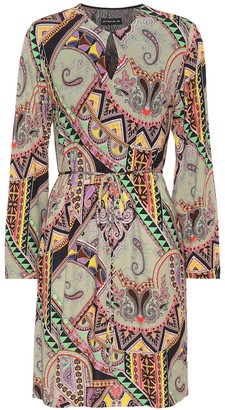 Etro Paisley-printed jersey dress