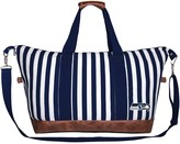 Unbranded Women's Seattle Seahawks Striped Weekender Bag