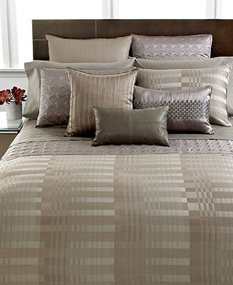 Hotel Collection CLOSEOUT! Bedding, Atrium Queen Duvet Cover