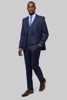 French Connection Slim Fit Bright Blue Milled Suit