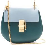 Chloé Drew bi-colour small leather cross-body bag
