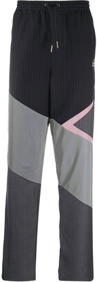 Daily Paper Colour-Block Pinstripe Track Pants