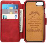 INFLATION leather iPhone case Wallet Phone Case with 2 ID Credit Card Slot Holder Flip Cover protect IPHONE 6/6s/6plus/7/7plus
