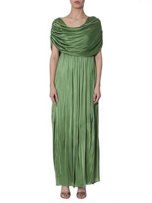 Lanvin Draped Neckline Dress