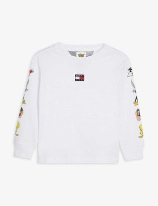 Tommy Hilfiger Tommy Jeans x Looney Tunes long sleeved cotton top 4-12 years