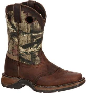Durango Baby Lil Little Kid Saddle Western Boot Mid Calf