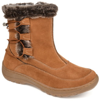 Journee Collection Wasilla Faux Fur Lined Boot