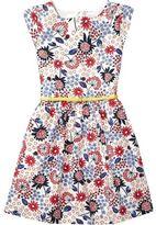Tommy Hilfiger Multi Flower Dress S/S