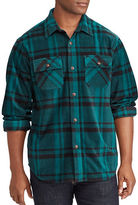 Chaps Big and Tall Two-Pocket Shirt Jacket