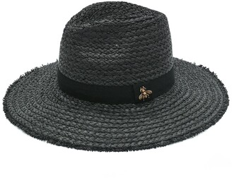 Vince Camuto Bee Embellishment Panama Hat