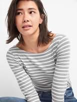 Gap Modern Elbow Length Sleeve Ballet-Back T-Shirt in Supima Cotton